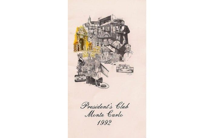 Presidents club Monte Carlo