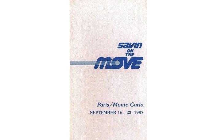 savin on the move